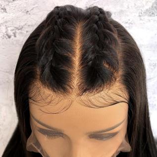180% FAKE SCALP 13x6 Lace Front Human Wigs Short Bob Straight Lace Wigs