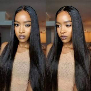 Narural Black Straight Wigs
