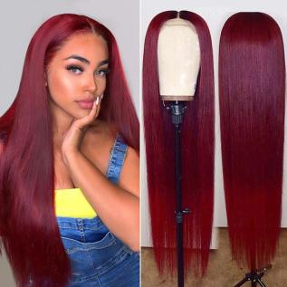 200% Density 99j Straight Lace Wigs