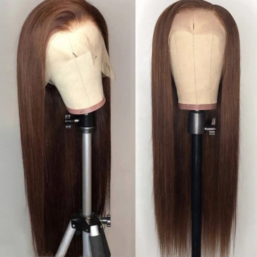 200% Density #4 Straight Lace Wigs