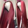 200% Density 1b/99j Straight Lace Wigs