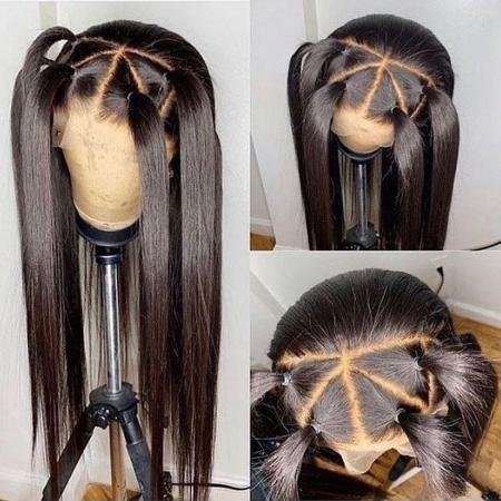 200% Density Half Lace Wigs