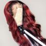 200% Density #1b99j Loose Wave Lace Wigs